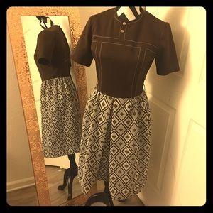 Vintage 60s Lester Paul Dress